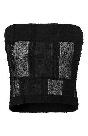 Женская топ ANN DEMEULEMEESTER черного цвета, арт. 2001-1830-168-099   Фото 1