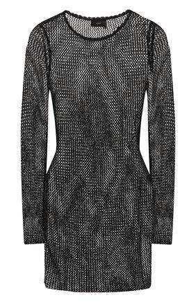 Женское платье ALANUI черного цвета, арт. LWHI019S20KNI001 | Фото 1