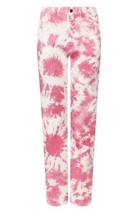 Женские джинсы ALANUI розового цвета, арт. LWYA010S20DEN003 | Фото 1
