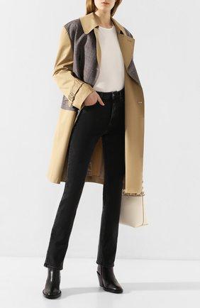 Женские джинсы TOTÊME серого цвета, арт. STANDARD DENIM 32 193-231-743 | Фото 2