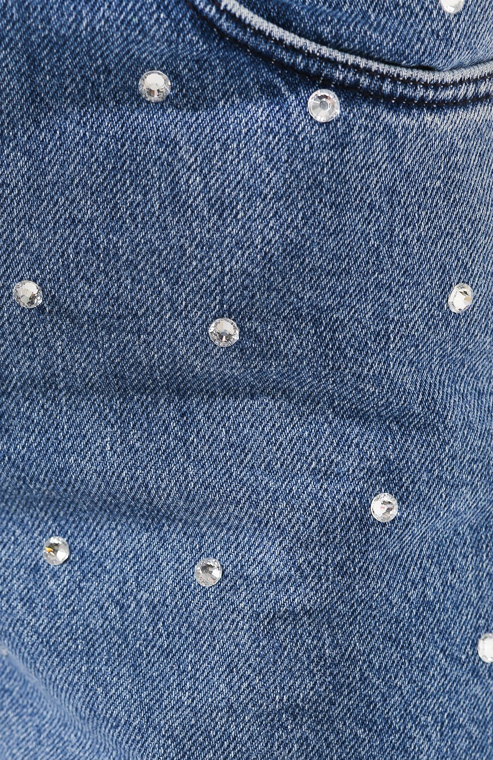 Женские джинсы PHILOSOPHY DI LORENZO SERAFINI голубого цвета, арт. A0332/2130   Фото 5