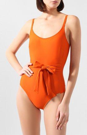 Женский слитный купальник FURSTENBERG оранжевого цвета, арт. BA 160/38371 | Фото 2