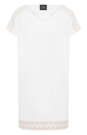 Женские хлопковое платье LE CHAT белого цвета, арт. MADRAGUE840 | Фото 1