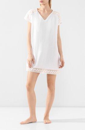 Женские хлопковое платье LE CHAT белого цвета, арт. MADRAGUE840 | Фото 2