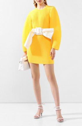 Женское платье с поясом SOLACE оранжевого цвета, арт. 0S26074 | Фото 2