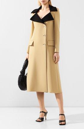 Женское шерстяное пальто PROENZA SCHOULER бежевого цвета, арт. R2021010-AW085 | Фото 2