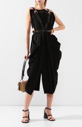 Женское платье из смеси вискозы и шелка PROENZA SCHOULER черного цвета, арт. R2023018-AY116 | Фото 2