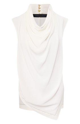 Женская шелковый топ PROENZA SCHOULER белого цвета, арт. R2024011-BS146 | Фото 1