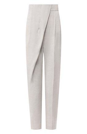 Женские брюки  PROENZA SCHOULER серого цвета, арт. R2026002-AY114 | Фото 1