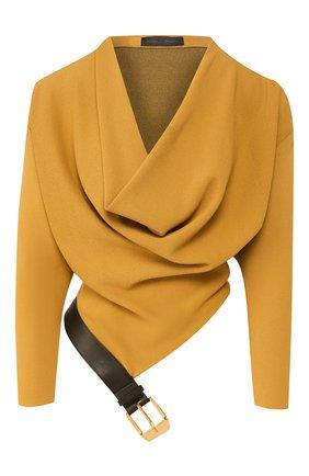 Женская пуловер PROENZA SCHOULER коричневого цвета, арт. R2027426-KY188 | Фото 1
