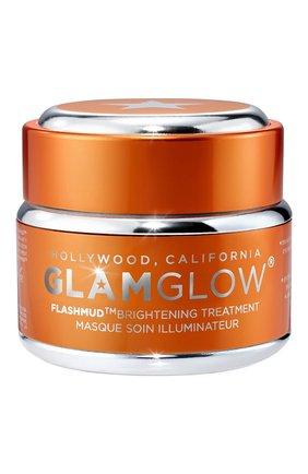 Женская маска для лица с эффектом сияния glamglow flashmud brightening treatment GLAMGLOW бесцветного цвета, арт. 889809002633 | Фото 1