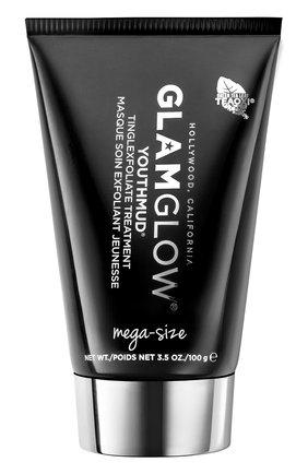 Женская отшелушивающая маска для лица youthmud glow stimulating treatment GLAMGLOW бесцветного цвета, арт. 889809009762 | Фото 1