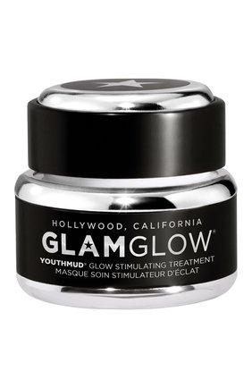 Женская отшелушивающая маска для лица youthmud glow stimulating treatment GLAMGLOW бесцветного цвета, арт. 889809009045 | Фото 1