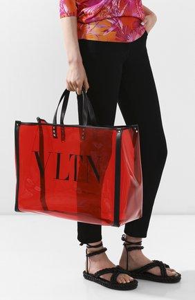 Женская сумка-шопер valentino garavani grande plage VALENTINO красного цвета, арт. TW2B0C89/MCE | Фото 2