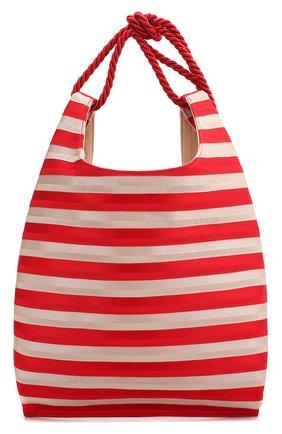 Женская сумка-шопер GIORGIO ARMANI красного цвета, арт. Y1D151/YFQ1A | Фото 1