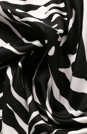 Женский шелковый платок DOLCE & GABBANA разноцветного цвета, арт. FN090R/GDV55 | Фото 2