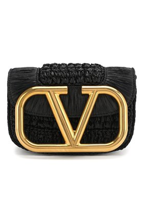Женская сумка valentino garavani supervee VALENTINO черного цвета, арт. TW0B0G45/LAX | Фото 1