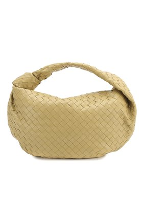 Женская сумка bv jodie small BOTTEGA VENETA бежевого цвета, арт. 600261/VCPP0 | Фото 1