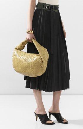 Женская сумка bv jodie small BOTTEGA VENETA бежевого цвета, арт. 600261/VCPP0 | Фото 2