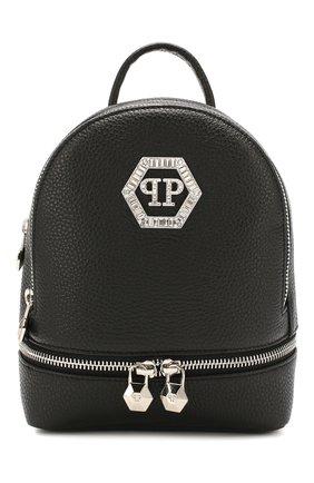 Женский рюкзак PHILIPP PLEIN черного цвета, арт. P20A WBA1256 PLE006N | Фото 1