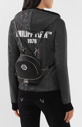 Женский рюкзак PHILIPP PLEIN черного цвета, арт. P20A WBA1256 PLE006N | Фото 2