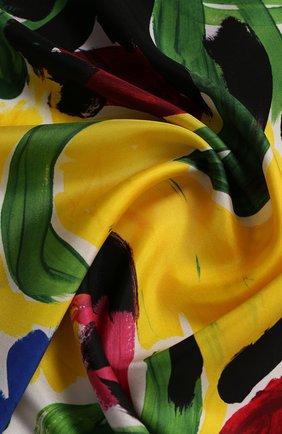Женский шелковый платок MARNI разноцветного цвета, арт. ACMC0050P1/SCQ76 | Фото 2