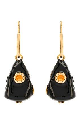 Женские серьги MARNI черного цвета, арт. 0RMV0161A0/M2000 | Фото 1