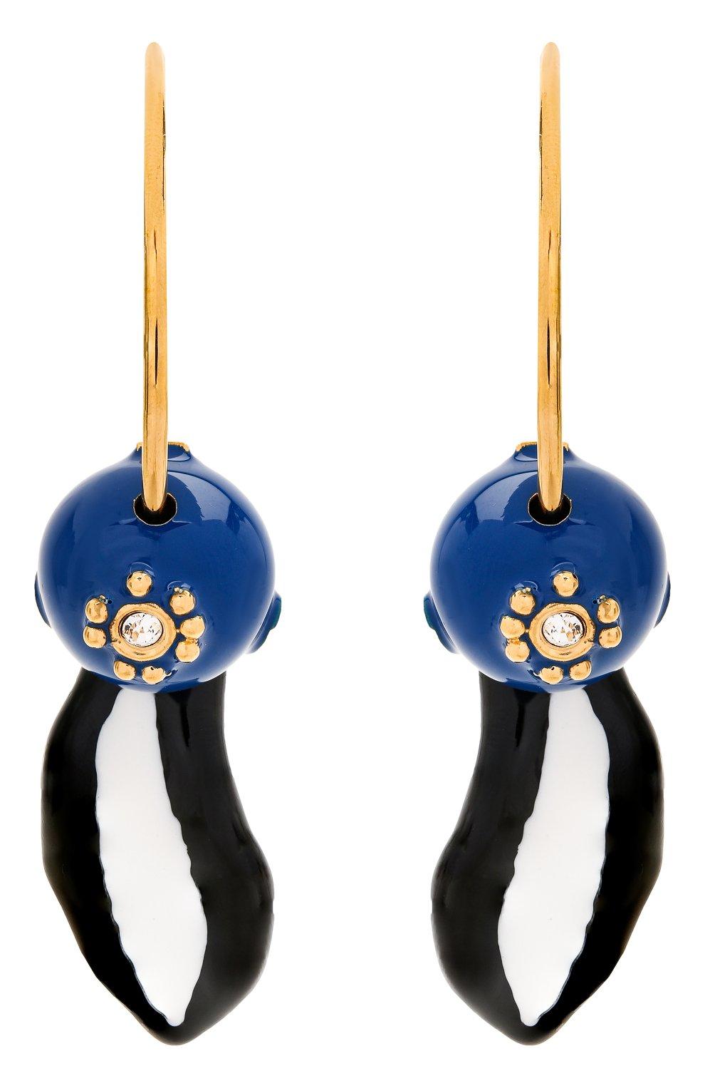 Женские серьги MARNI синего цвета, арт. 0RMV0168A0/M2000 | Фото 1