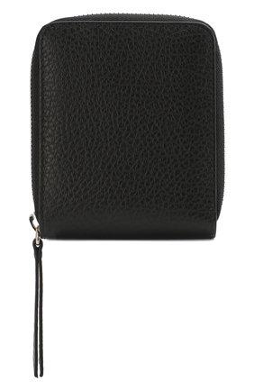 Женские кожаный кошелек MAISON MARGIELA черного цвета, арт. S56UI0111/P0399 | Фото 1