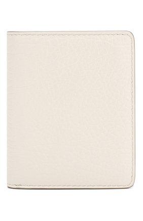 Женские кожаный кошелек MAISON MARGIELA белого цвета, арт. S56UI0140/P0399 | Фото 1