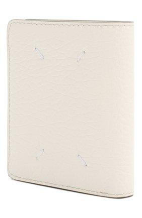 Женские кожаный кошелек MAISON MARGIELA белого цвета, арт. S56UI0140/P0399 | Фото 2