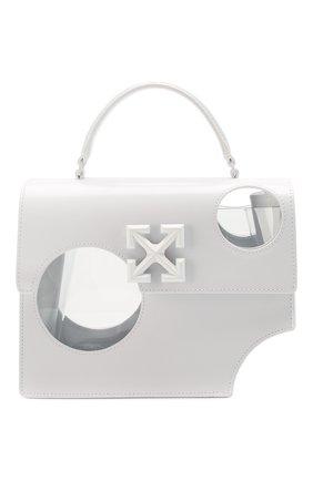 Женская сумка 2.8 jitney OFF-WHITE белого цвета, арт. 0WNA113S20LEA0010100 | Фото 1