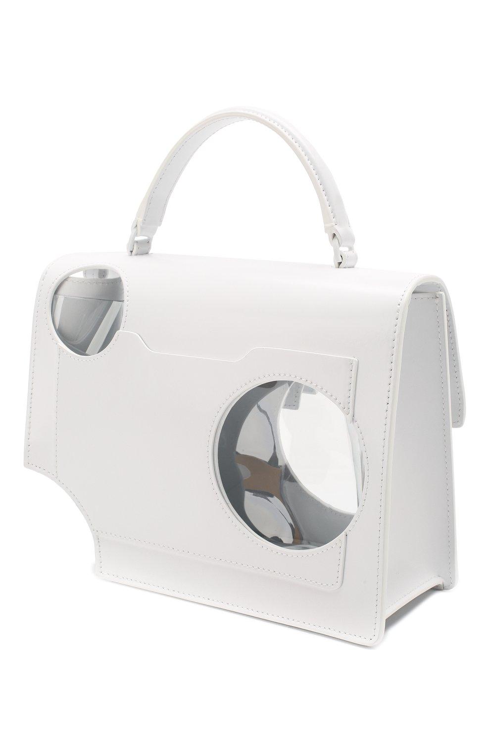 Женская сумка 2.8 jitney OFF-WHITE белого цвета, арт. 0WNA113S20LEA0010100   Фото 3