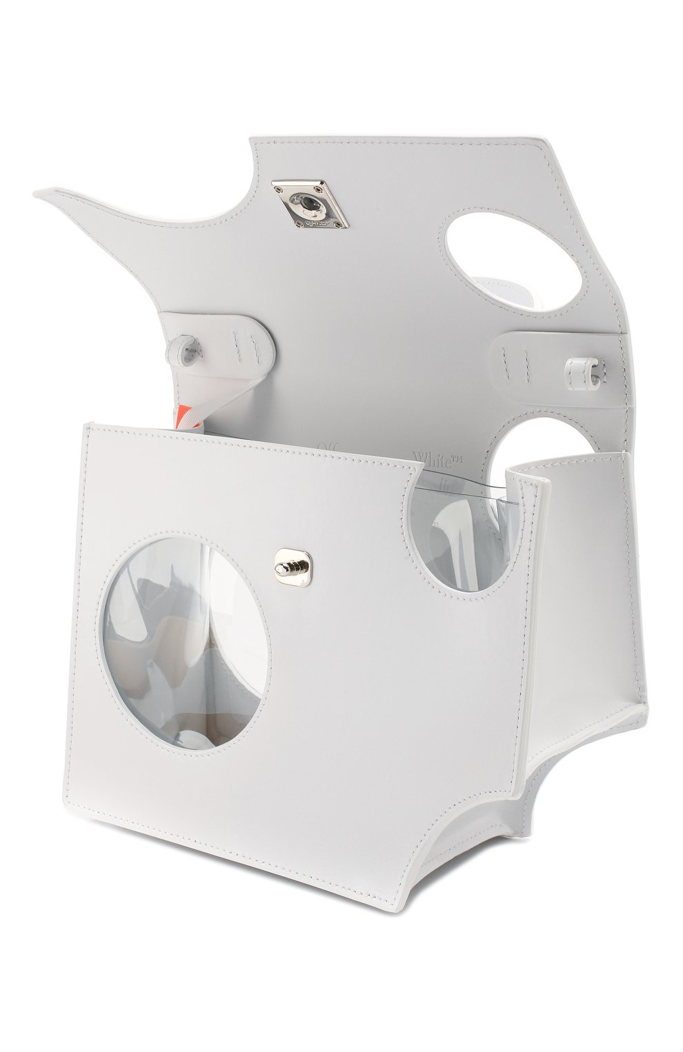 Женская сумка 2.8 jitney OFF-WHITE белого цвета, арт. 0WNA113S20LEA0010100   Фото 4