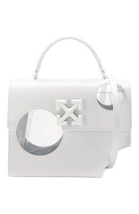 Женская сумка 2.8 jitney OFF-WHITE белого цвета, арт. 0WNA113S20LEA0010100   Фото 6