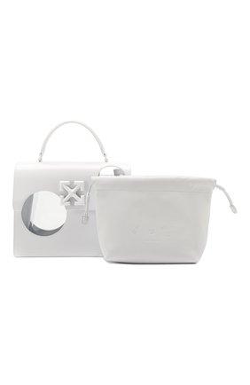 Женская сумка 2.8 jitney OFF-WHITE белого цвета, арт. 0WNA113S20LEA0010100   Фото 7