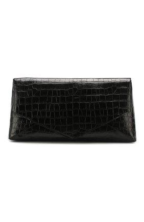Женский клатч DRIES VAN NOTEN черного цвета, арт. 201-11507-356 | Фото 1