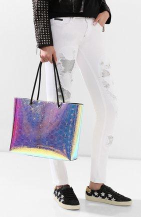 Женская сумка-шопер PHILIPP PLEIN разноцветного цвета, арт. P20A WBA1236 PLE073N | Фото 2