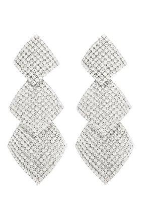 Женские клипсы ALESSANDRA RICH серебряного цвета, арт. FABA2035 | Фото 1