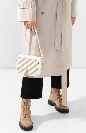 Женская сумка flap OFF-WHITE белого цвета, арт. 0WNA011S20LEA0030176 | Фото 2