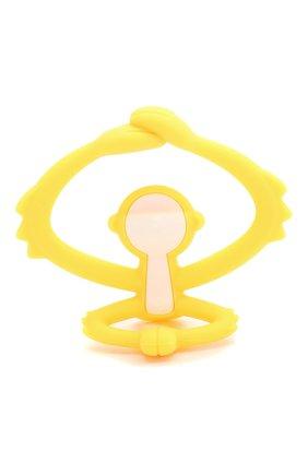 Детского прорезыватель MOMBELLA желтого цвета, арт. 8081-3 | Фото 1