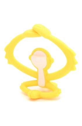 Детского прорезыватель MOMBELLA желтого цвета, арт. 8081-3 | Фото 2