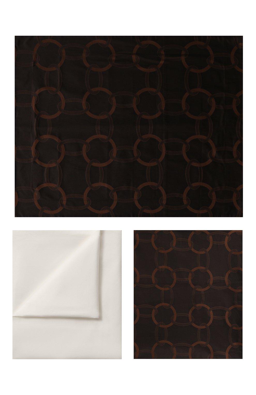 Мужского комплект постельного белья FRETTE черного цвета, арт. FR6593 E3462 260A | Фото 1