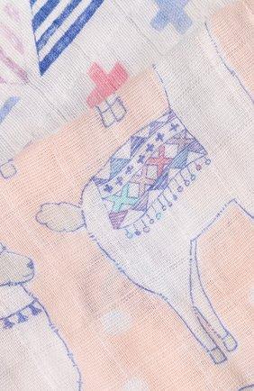 Детского комплект из двух пеленок ADEN+ANAIS разноцветного цвета, арт. 4044   Фото 6