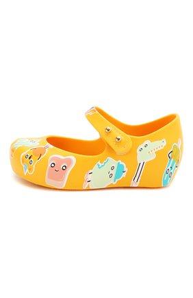 Детские туфли MELISSA желтого цвета, арт. 32756 | Фото 2