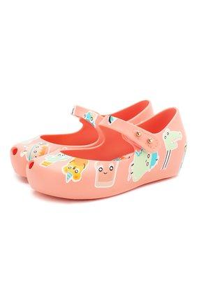 Детские туфли MELISSA розового цвета, арт. 32756 | Фото 1