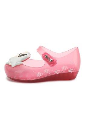 Детские туфли MELISSA розового цвета, арт. 32770 | Фото 2