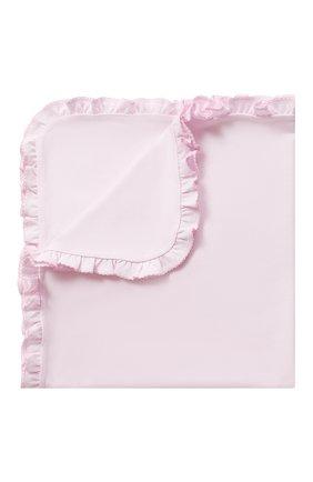 Детского хлопковое одеяло KISSY KISSY розового цвета, арт. KG7044570   Фото 1