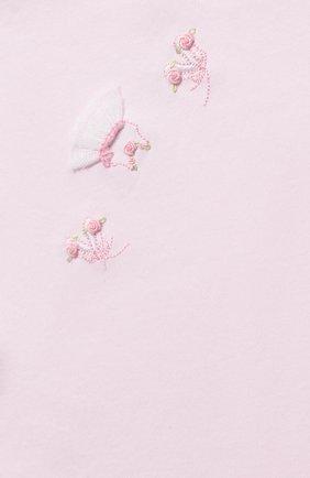Детского хлопковое одеяло KISSY KISSY розового цвета, арт. KG7044570   Фото 2