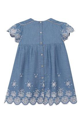Женский хлопковое платье TARTINE ET CHOCOLAT синего цвета, арт. TQ30131/4A-5A | Фото 2